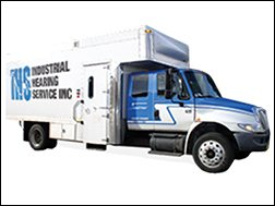 Industrial Hearing Service Inc. test vehicle